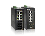 EX71000 series, EX71620-10B managed Ethernet switch, 6 x 10/100 BaseTX & 2 MM SC 100 BaseFX, -40 to 75°C, EX71620-20B managed Ethernet switch, 6 x 10/100 BaseTX & 2 MM ST 100 BaseFX, -40 to 75°C, EX71620-A0B managed Ethernet switch, 6 x 10/100 BaseTX & 2 SM-20KM  SC 100 BaseFX, -40 to 75°C, EX71620-B0B managed Ethernet switch, 6 x 10/100 BaseTX & 2 SM-40KM  SC 100 BaseFX, -40 to 75°C, EX71620-V0B managed Ethernet switch, 6 x 10/100 BaseTX & 2 x100Base SFP  100 BaseFX, -40 to 75°C, EX71800A-00B managed Ethernet switch, 8 x 10/100 BaseTX , -40 to 75°C, EX71802-01B managed Ethernet switch, 8 x 10/100 BaseTX & 2 10/100/1000TX, -40 to 75°C, EX71802-03B managed Ethernet switch, 8 x 10/100 BaseTX & 2 1000Base-SX , -40 to 75°C, EX71802-0AB managed Ethernet switch, 8 x 10/100 BaseTX & 2 1000Base-LX 10KM, -40 to 75°C, EX71802-0BB managed Ethernet switch, 8 x 10/100 BaseTX & 2 1000Base-LX 20KM, -40 to 75°C, EX71802-0VB managed Ethernet switch, 8 x 10/100 BaseTX & 2 x1000Base SFP, -40 to 75°C